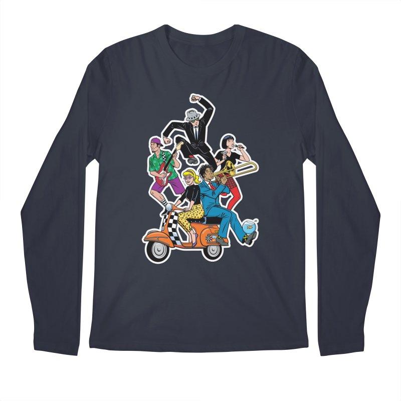 Cartoon shirt by Steve Vance Men's Longsleeve T-Shirt by Pick It Up!