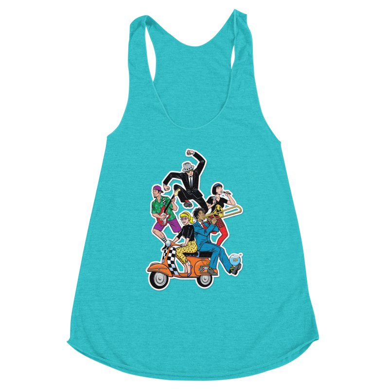 Cartoon shirt by Steve Vance Women's Tank by Pick It Up!