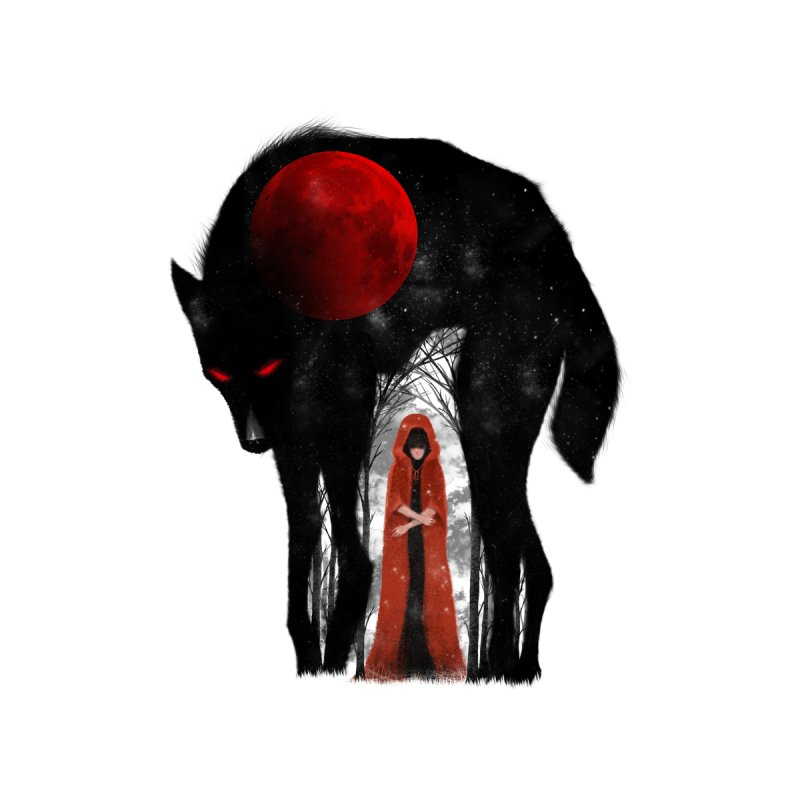Red Moon None  by skaryllska's Artist Shop