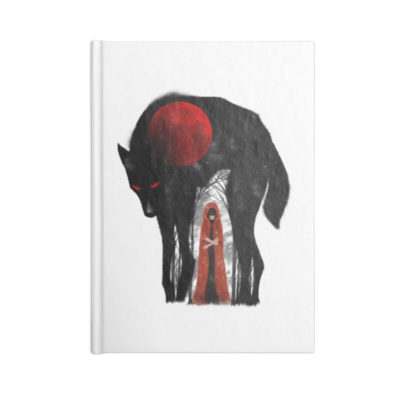 Red Moon Accessories Notebook by skaryllska's Artist Shop