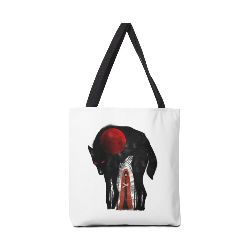 Red Moon Accessories Bag by skaryllska's Artist Shop