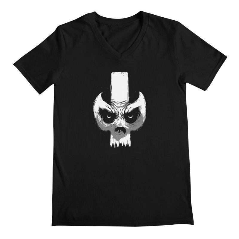 Bones Men's V-Neck by skaryllska's Artist Shop