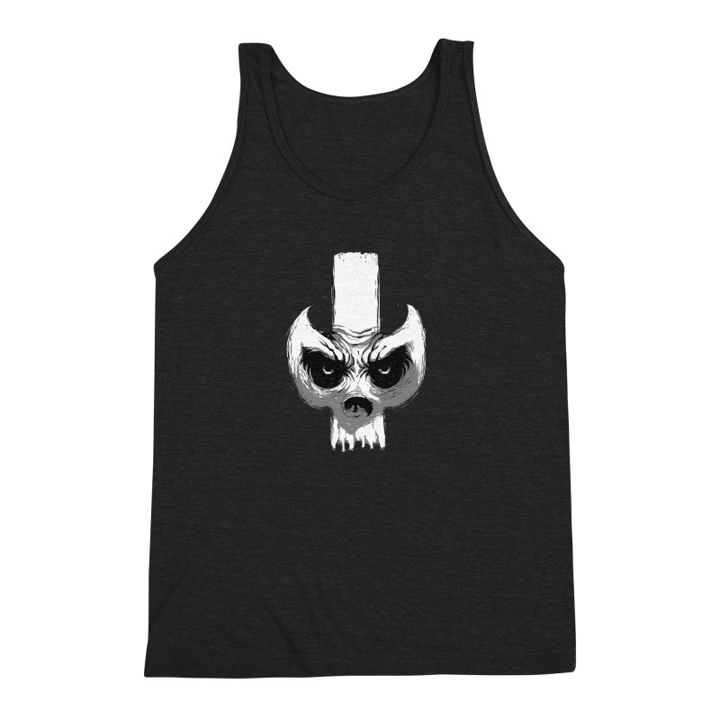 Bones Men's Triblend Tank by skaryllska's Artist Shop
