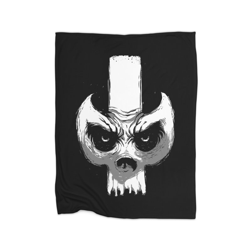 Bones Home Blanket by skaryllska's Artist Shop