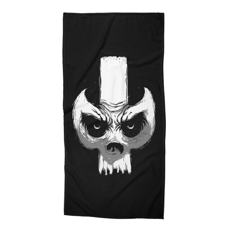 Bones Accessories Beach Towel by skaryllska's Artist Shop