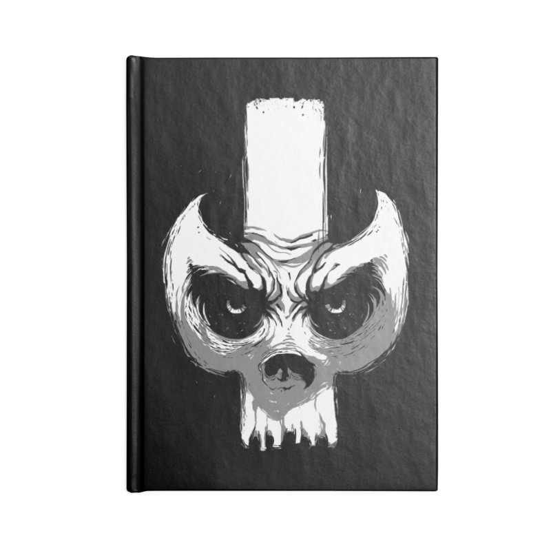 Bones Accessories Notebook by skaryllska's Artist Shop
