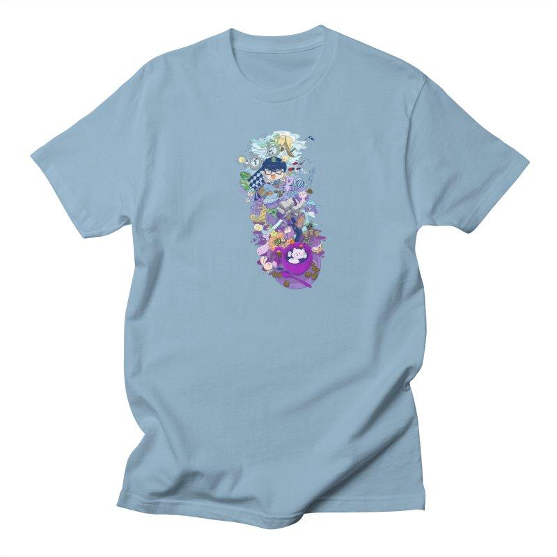 Coffee Cat Men's T-Shirt by skaryllska's Artist Shop
