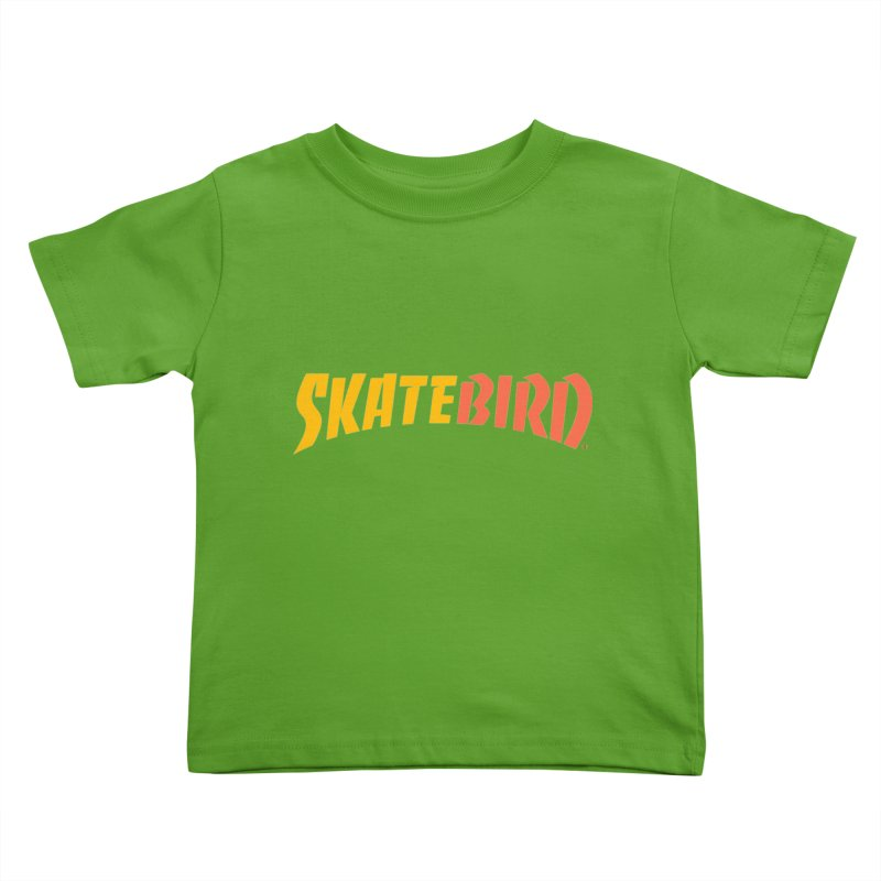 Brand Yourself A SkateBIRD Kids Toddler T-Shirt by SkateBIRD Merchandise