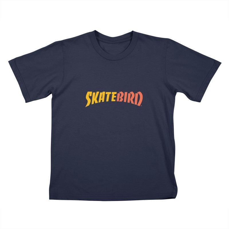 Brand Yourself A SkateBIRD Kids T-Shirt by SkateBIRD Merchandise