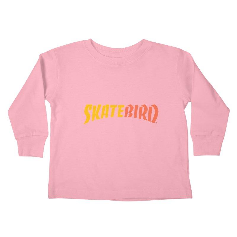 Brand Yourself A SkateBIRD Kids Toddler Longsleeve T-Shirt by SkateBIRD Merchandise