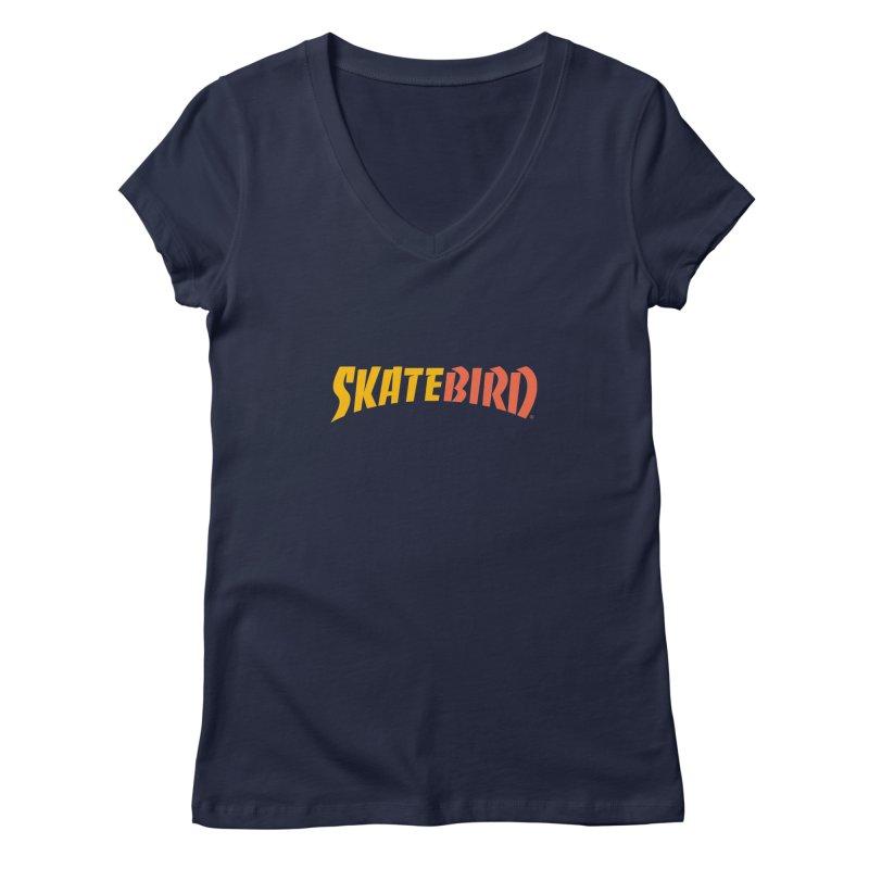 Brand Yourself A SkateBIRD Women's V-Neck by SkateBIRD Merchandise