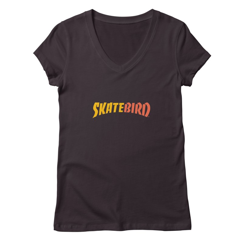 Brand Yourself A SkateBIRD Women's V-Neck by SkateBIRD Merchandise