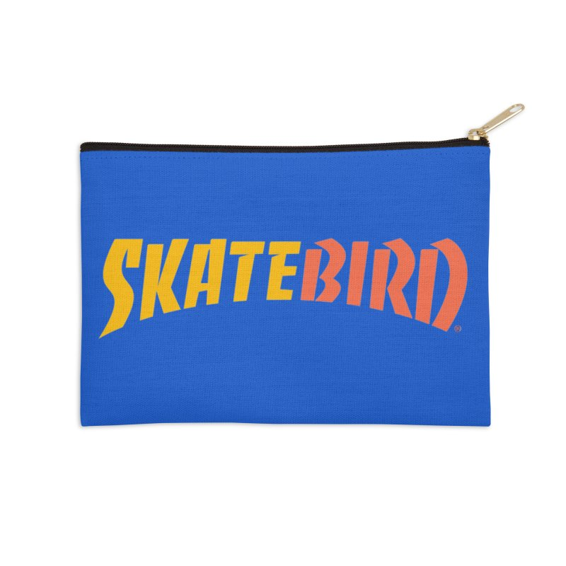 Brand Yourself A SkateBIRD Accessories Zip Pouch by SkateBIRD Merchandise