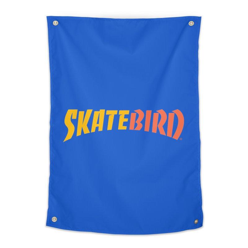 Brand Yourself A SkateBIRD Home Tapestry by SkateBIRD Merchandise