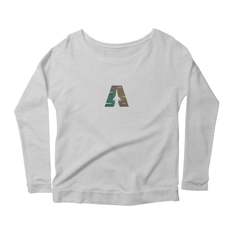 ATTACK Women's Longsleeve Scoopneck  by skatee1's Artist Shop