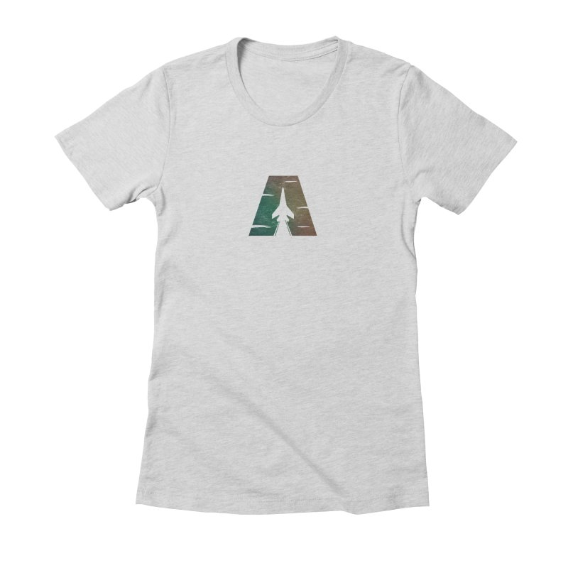 ATTACK Women's Fitted T-Shirt by skatee1's Artist Shop