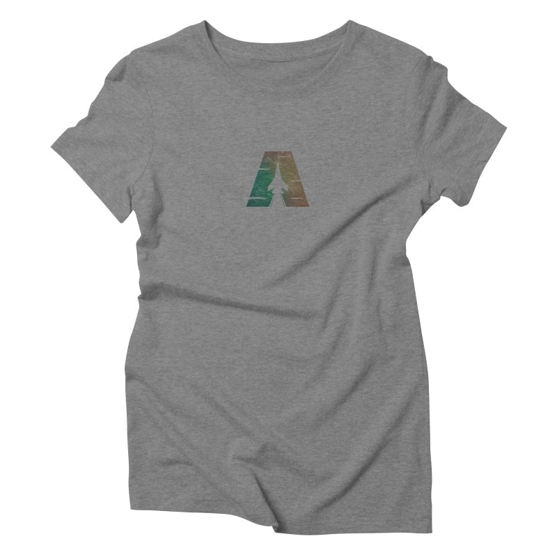 ATTACK Women's Triblend T-shirt by skatee1's Artist Shop