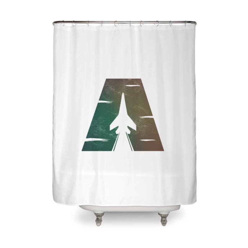 ATTACK Home Shower Curtain by skatee1's Artist Shop