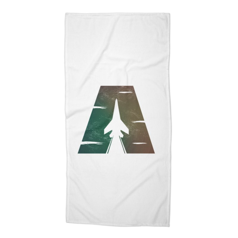 ATTACK Accessories Beach Towel by skatee1's Artist Shop