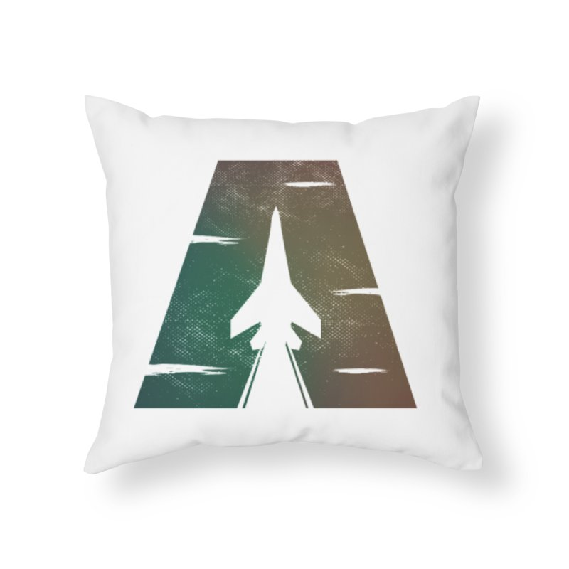 ATTACK Home Throw Pillow by skatee1's Artist Shop