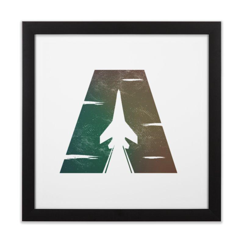 ATTACK Home Framed Fine Art Print by skatee1's Artist Shop