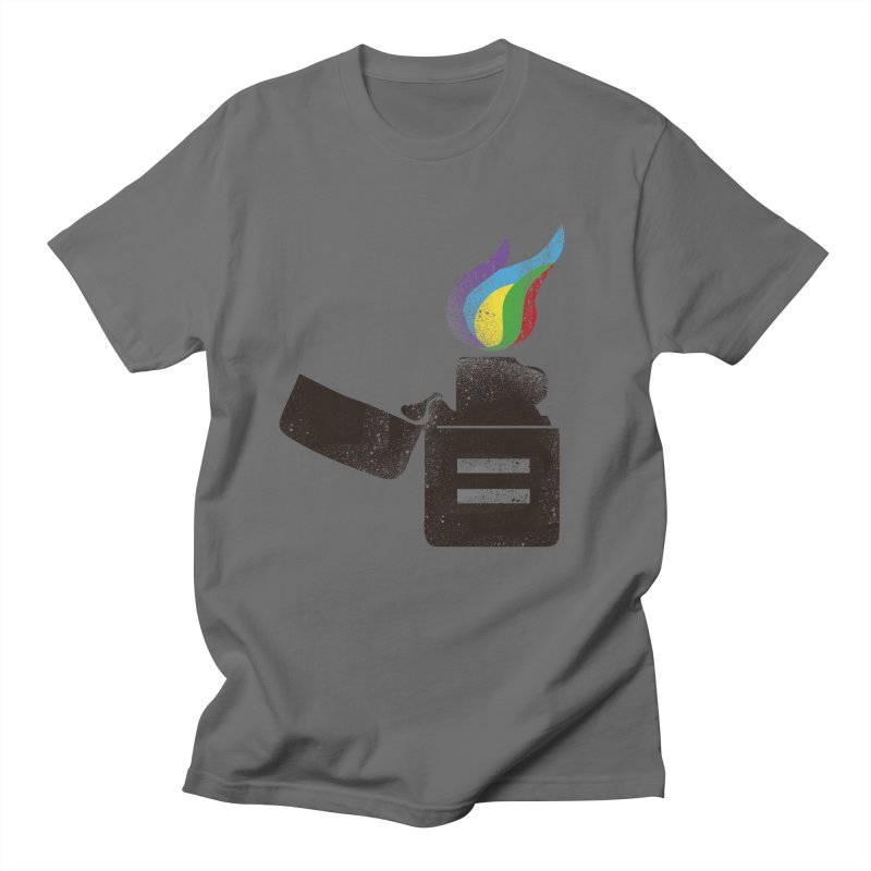 THE FLAME OF EQUALITY Women's Unisex T-Shirt by skatee1's Artist Shop