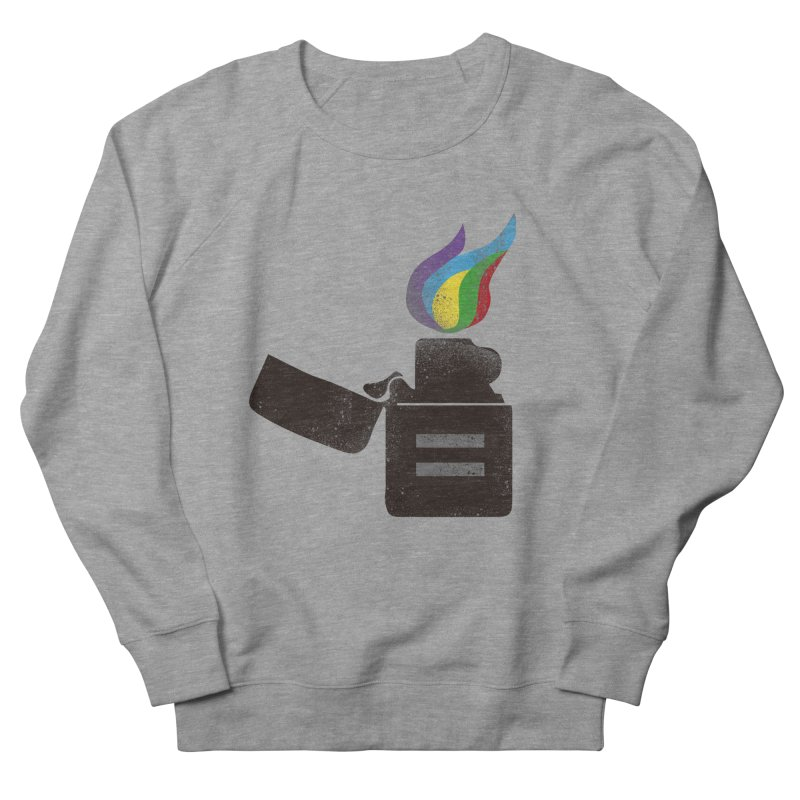 THE FLAME OF EQUALITY Women's Sweatshirt by skatee1's Artist Shop