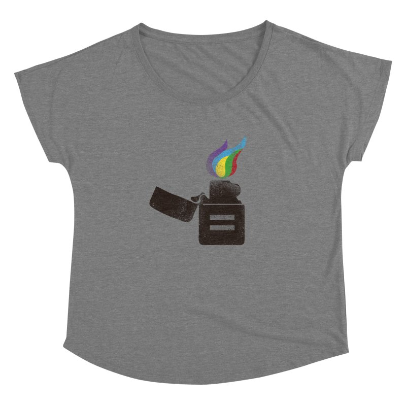 THE FLAME OF EQUALITY Women's Dolman by skatee1's Artist Shop