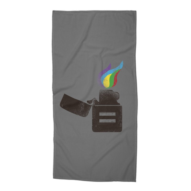 THE FLAME OF EQUALITY Accessories Beach Towel by skatee1's Artist Shop