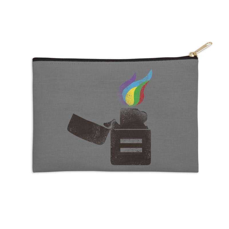 THE FLAME OF EQUALITY Accessories Zip Pouch by skatee1's Artist Shop