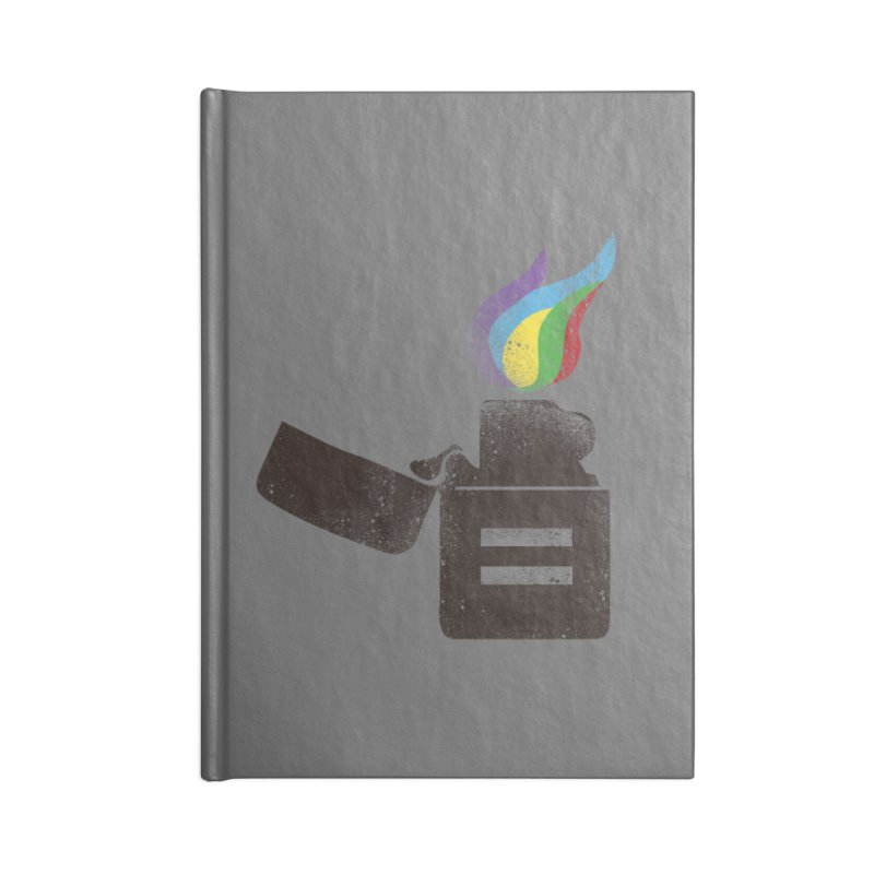THE FLAME OF EQUALITY Accessories Notebook by skatee1's Artist Shop