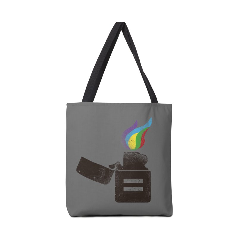 THE FLAME OF EQUALITY Accessories Bag by skatee1's Artist Shop