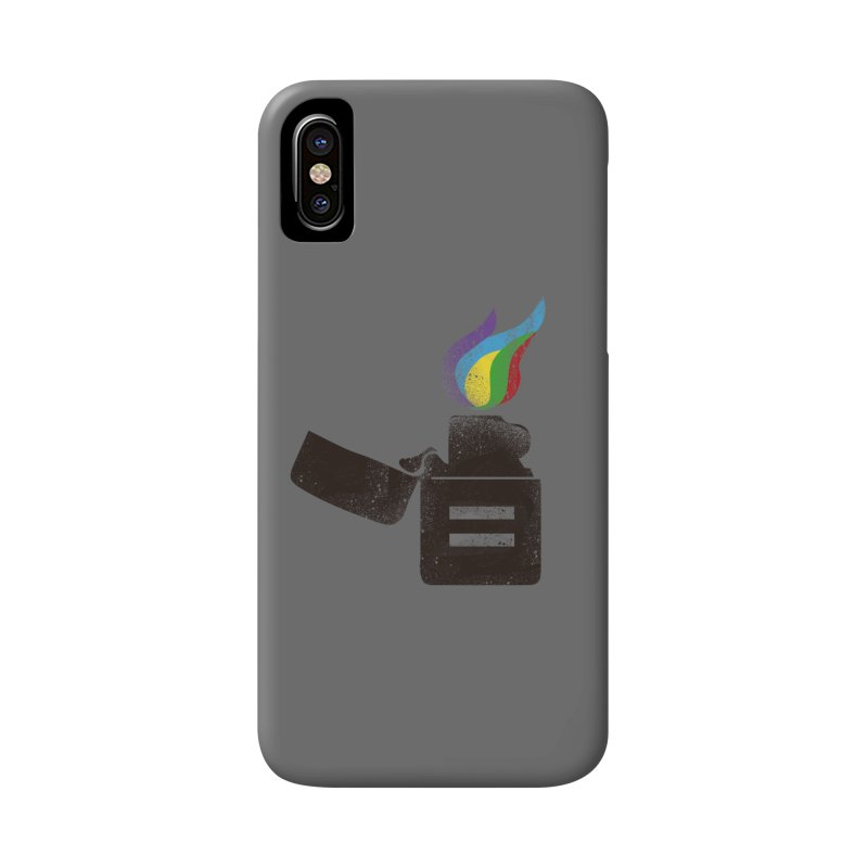 THE FLAME OF EQUALITY Accessories Phone Case by skatee1's Artist Shop