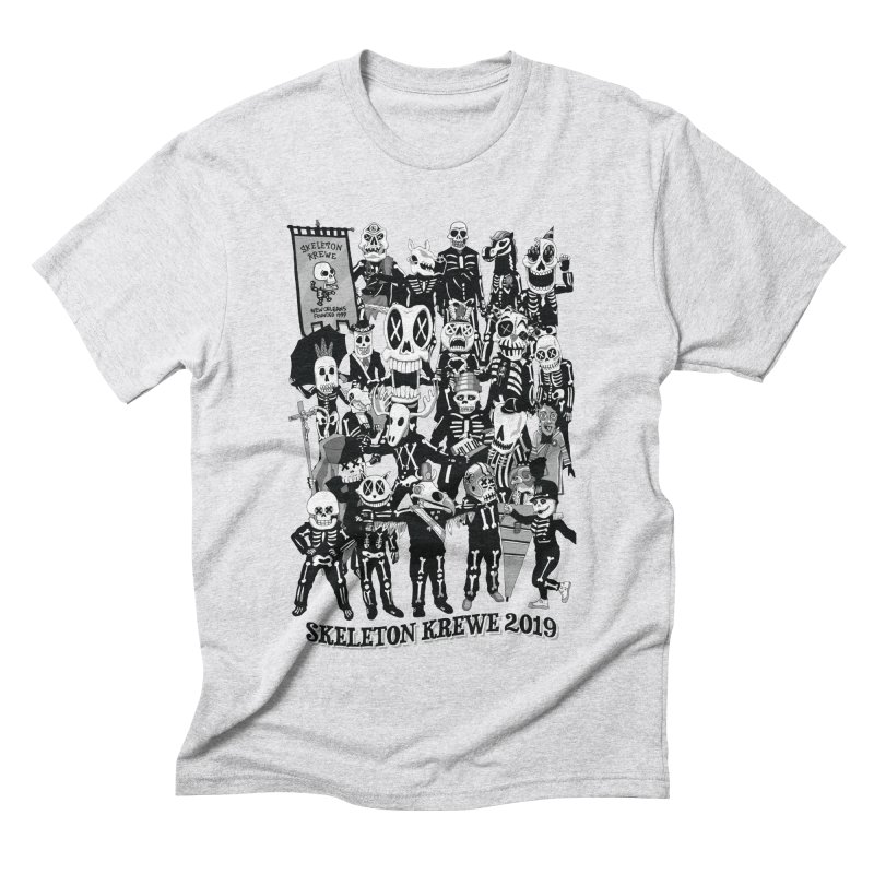 Skeleton Krewe 2019 Men's Triblend T-Shirt by Skeleton Krewe's Shop