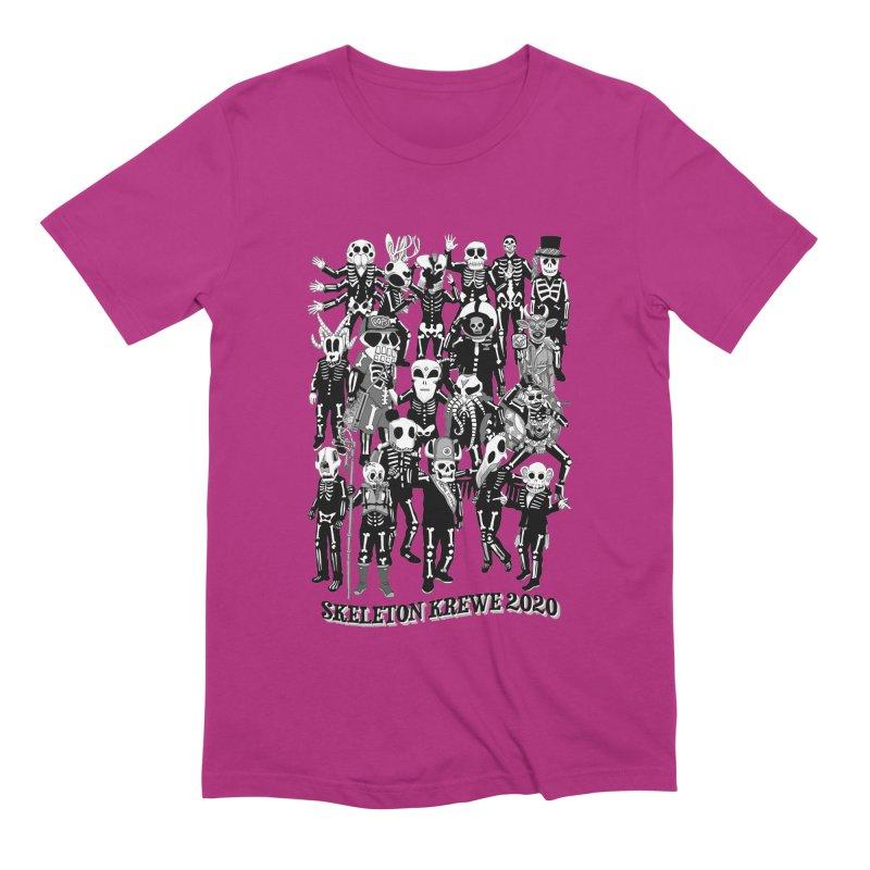 Skeleton Krewe 2020 Men's Extra Soft T-Shirt by Skeleton Krewe's Shop