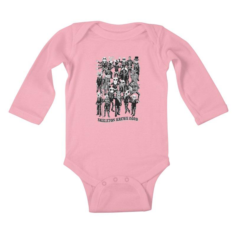 Skeleton Krewe 2020 Kids Baby Longsleeve Bodysuit by Skeleton Krewe's Shop