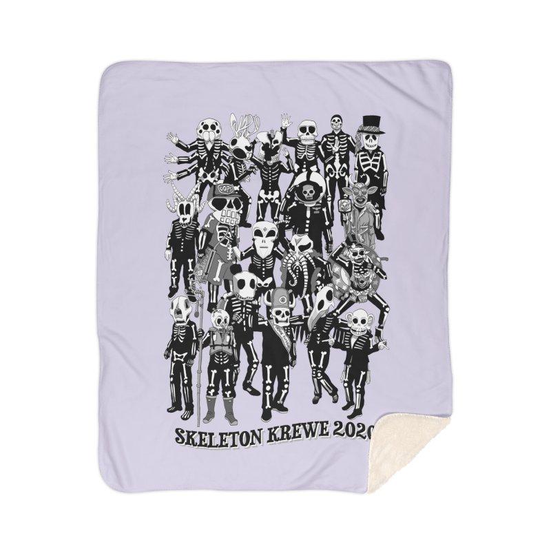 Skeleton Krewe 2020 Home Sherpa Blanket Blanket by Skeleton Krewe's Shop