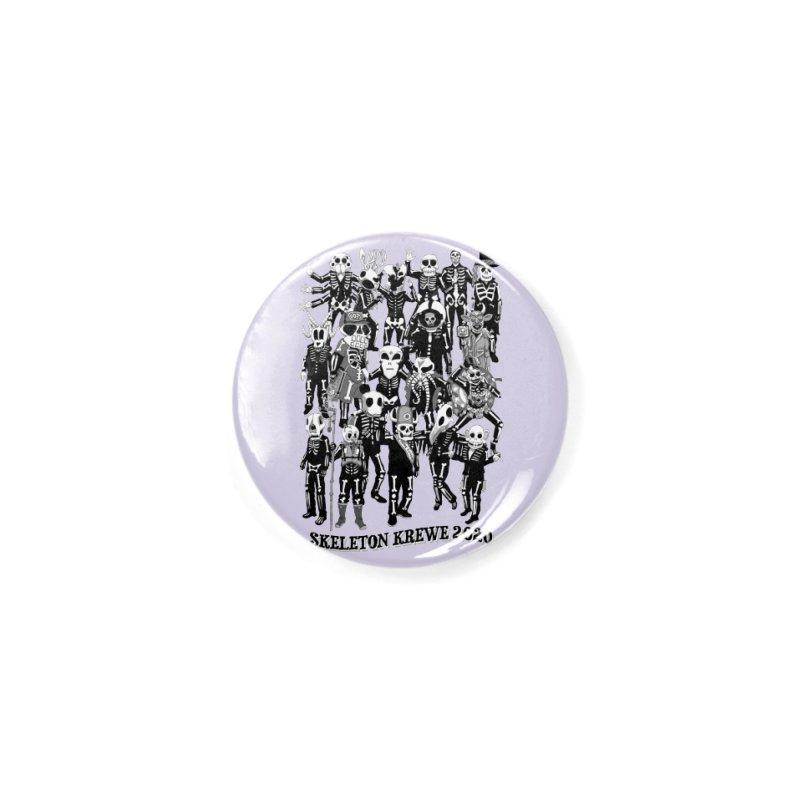 Skeleton Krewe 2020 Accessories Button by Skeleton Krewe's Shop