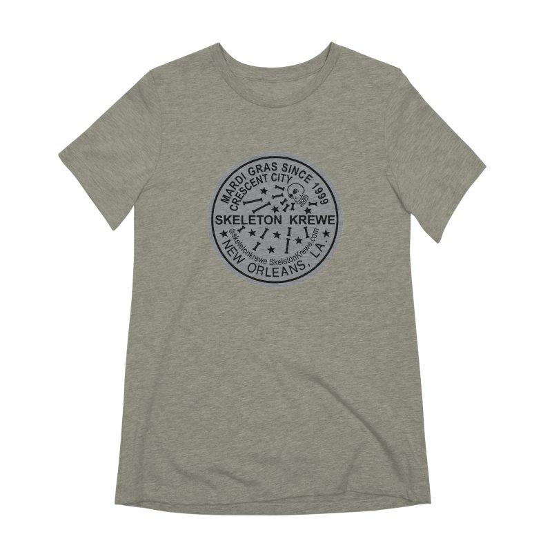 Skeleton Krewe Water Meter Cover Women's Extra Soft T-Shirt by Skeleton Krewe's Shop