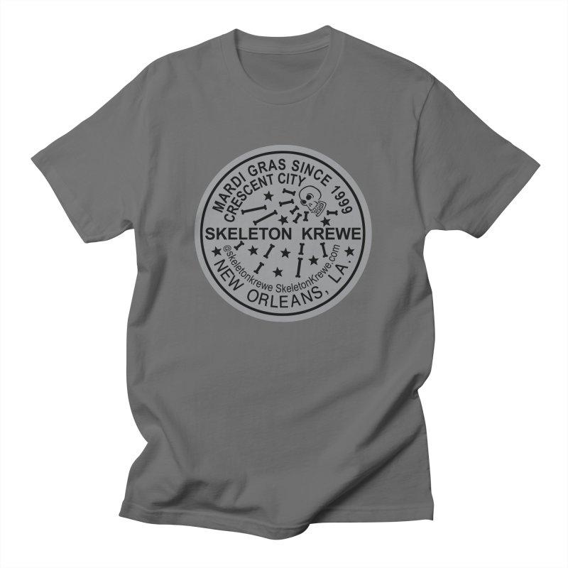 Skeleton Krewe Water Meter Cover Loose Fit T-Shirt by Skeleton Krewe's Shop
