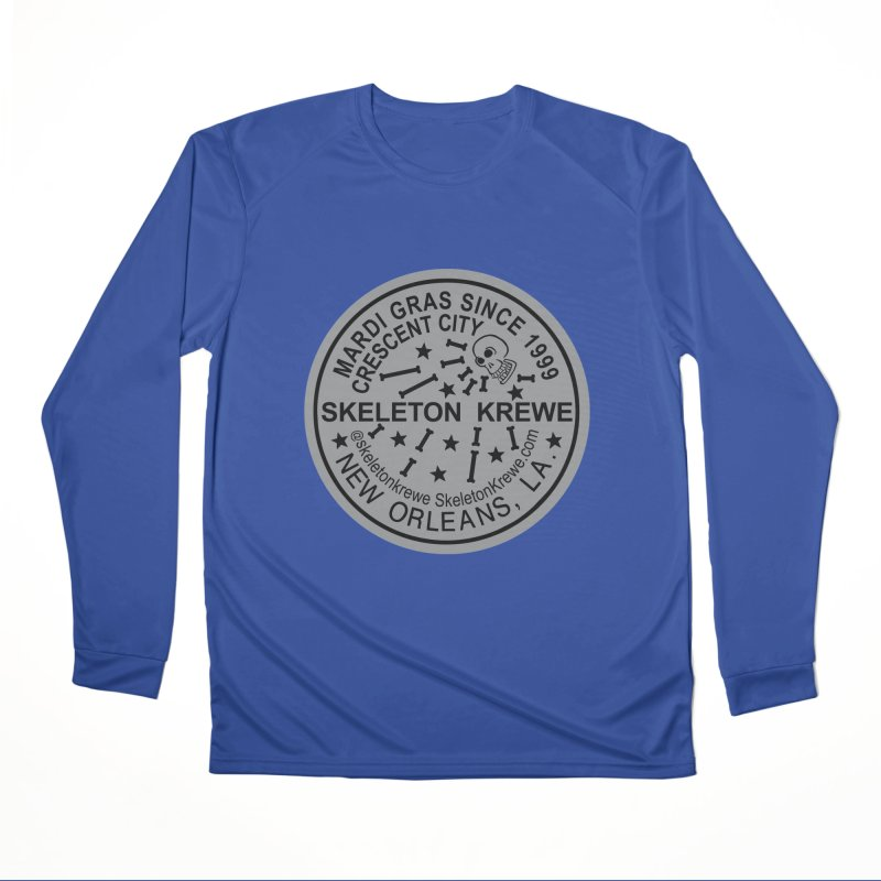 Skeleton Krewe Water Meter Cover Women's Performance Unisex Longsleeve T-Shirt by Skeleton Krewe's Shop