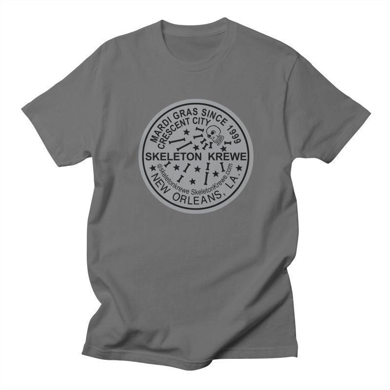 Skeleton Krewe Water Meter Cover Men's T-Shirt by Skeleton Krewe's Shop