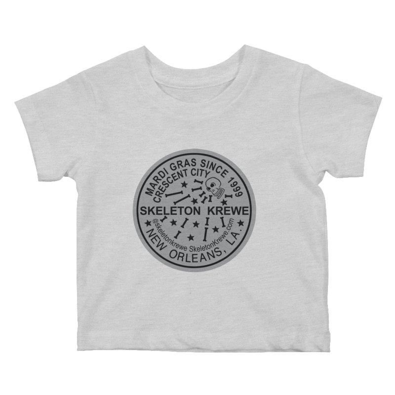 Skeleton Krewe Water Meter Cover Kids Baby T-Shirt by Skeleton Krewe's Shop