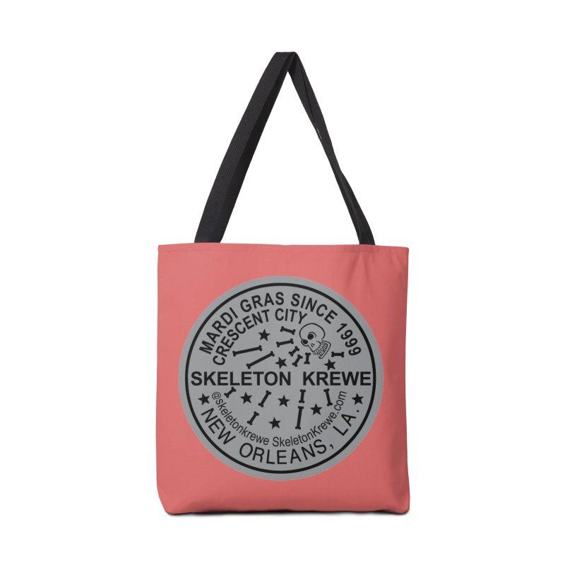 Skeleton Krewe Water Meter Cover Accessories Tote Bag Bag by Skeleton Krewe's Shop
