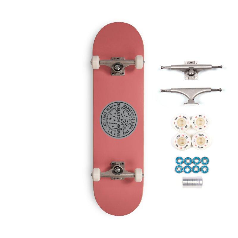 Skeleton Krewe Water Meter Cover Accessories Complete - Premium Skateboard by Skeleton Krewe's Shop
