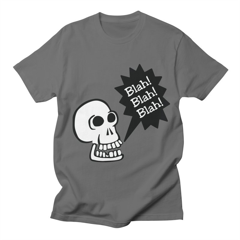 Skelly has the Blahs Men's T-Shirt by Skeleton Krewe's Shop