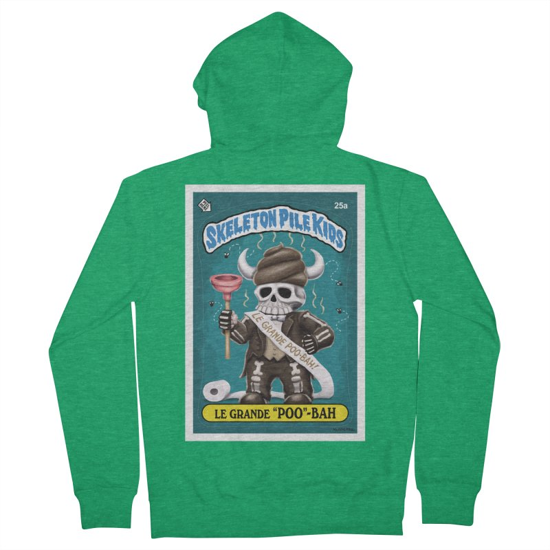 "Skeleton Pile Kids - LE GRANDE ""POO""-BAH Men's Zip-Up Hoody by Skeleton Krewe's Shop"