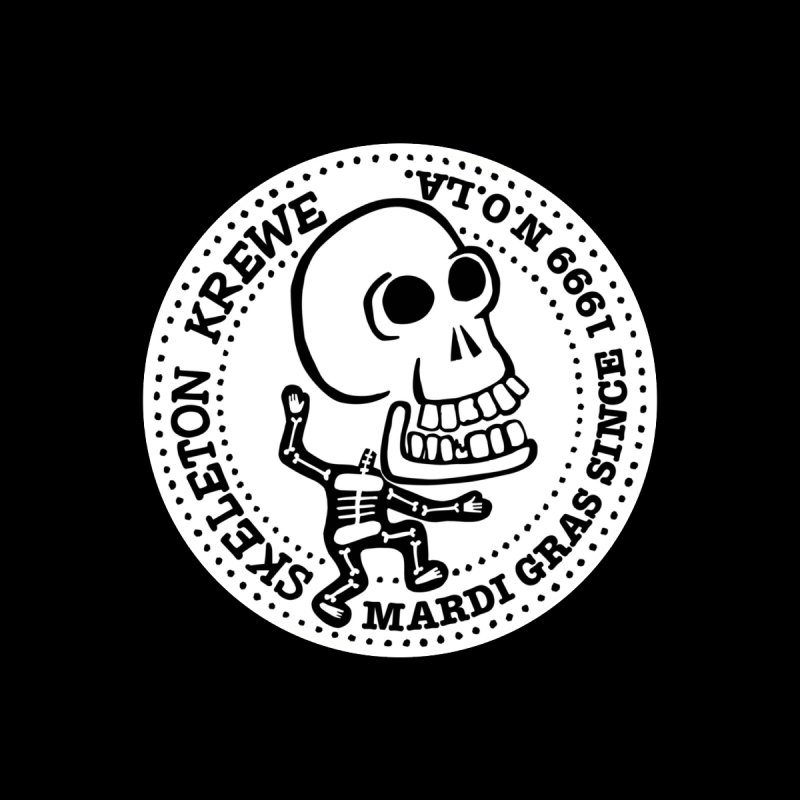 Skeleton Krewe Large Logo by Skeleton Krewe's Shop