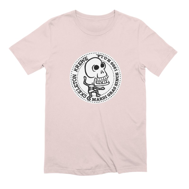 Skeleton Krewe Large Logo Men's Extra Soft T-Shirt by Skeleton Krewe's Shop