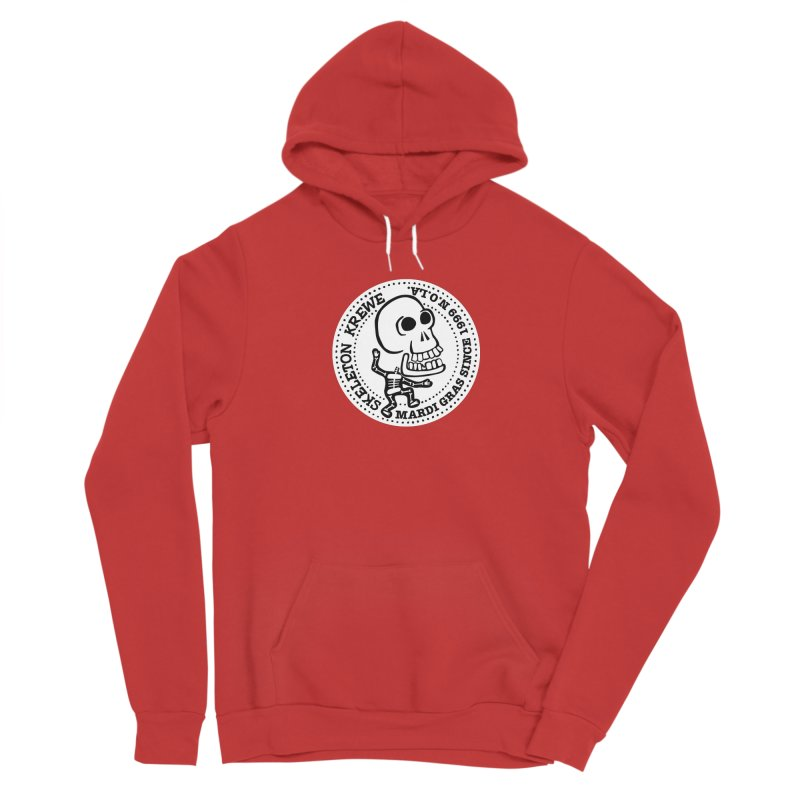 Skeleton Krewe Large Logo Men's Sponge Fleece Pullover Hoody by Skeleton Krewe's Shop